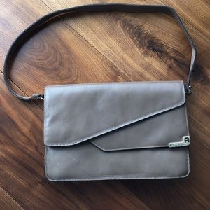 Vintage Etienne Aigner Taupe Handbag